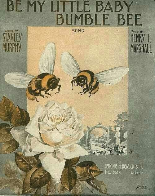 beehive decor bumble bee art00236.jpg