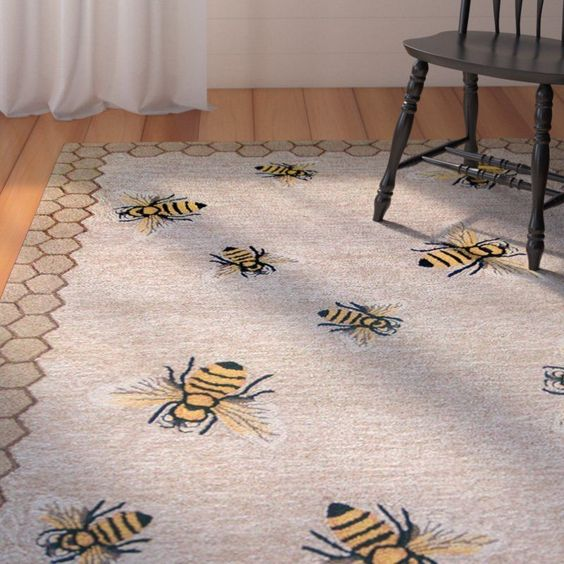 beehive decor house bumble bee art00244.jpg