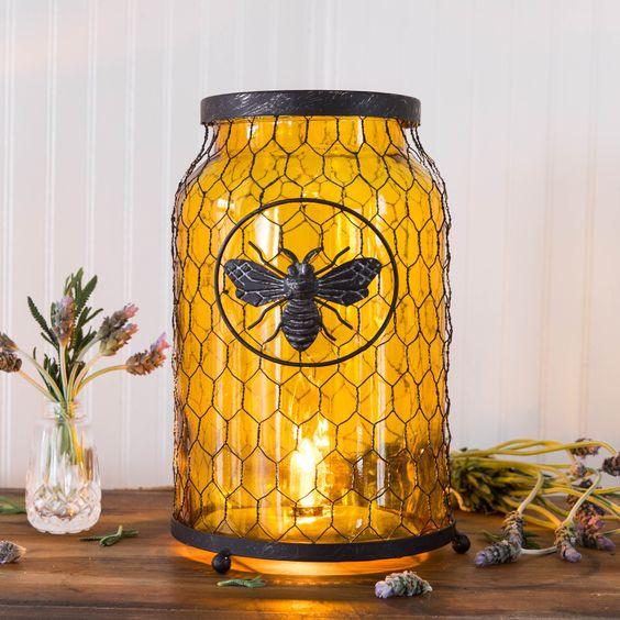 beehive decor house bumble bee art00236.jpg