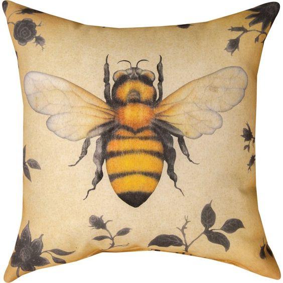 beehive decor house bumble bee art00240.jpg