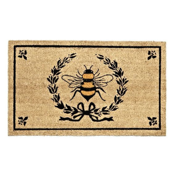 beehive decor house bumble bee art00243.jpg
