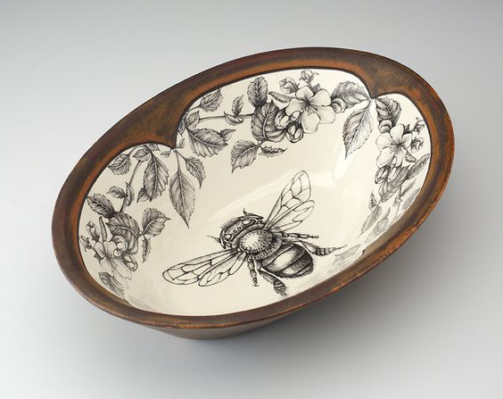 beehive decor house bumble bee art00235.jpg