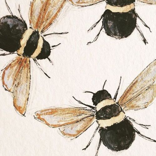 beehive decor honey bumble bee art00232.jpg