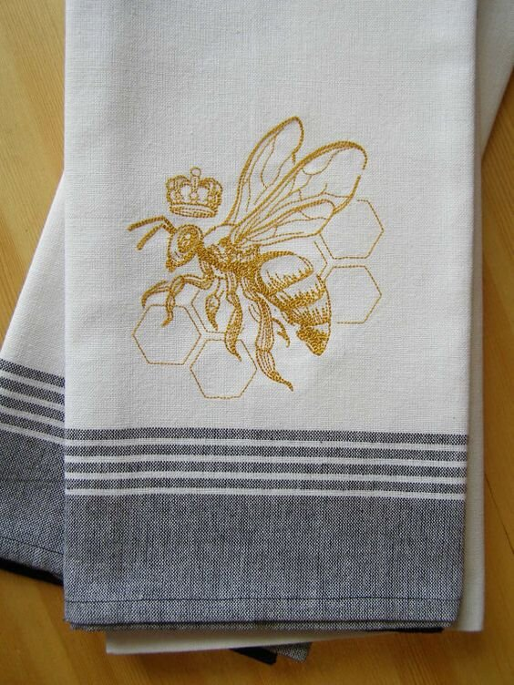 Beehive decor and bee motif decor