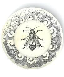 Bee & Beehive Dinner Plates We Love - The Bumble Bee Blog - The Beehive Shoppe14.jpg