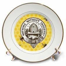 Bee & Beehive Dinner Plates We Love - The Bumble Bee Blog - The Beehive Shoppe15.jpg