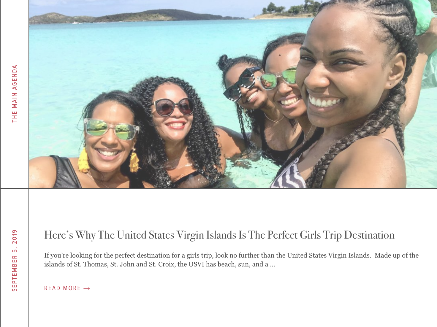 Here's Why The United States Virgin Islands Is The Perfect Girls Trip Destination