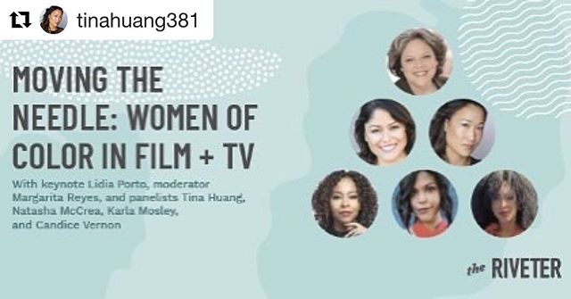 "@1to1productions co-founders are speaking on this amazing panel! We hope you join us! Women of Color are #MovingTheNeedle in Hollywood. Join us Aug. 1 in L.A., for an engaging discussion led by our talented panel of directors, producers, writers and actresses. Buy your tix now. 50% off code: ""Diversity"" https://events.theriveter.co/e/moving-the-needle-women-of-color-in-film-and-tv"