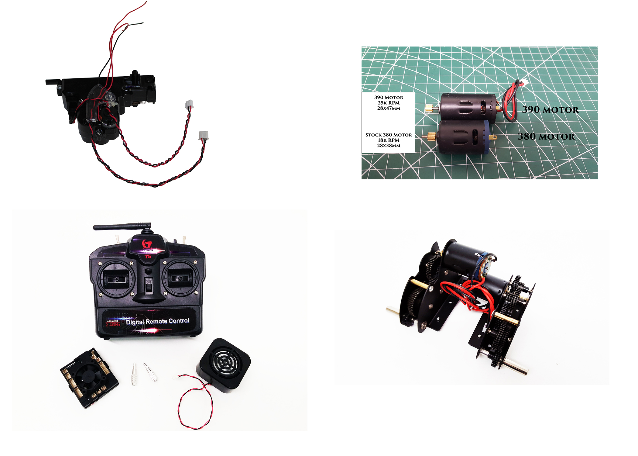 Electronics & Gearboxes
