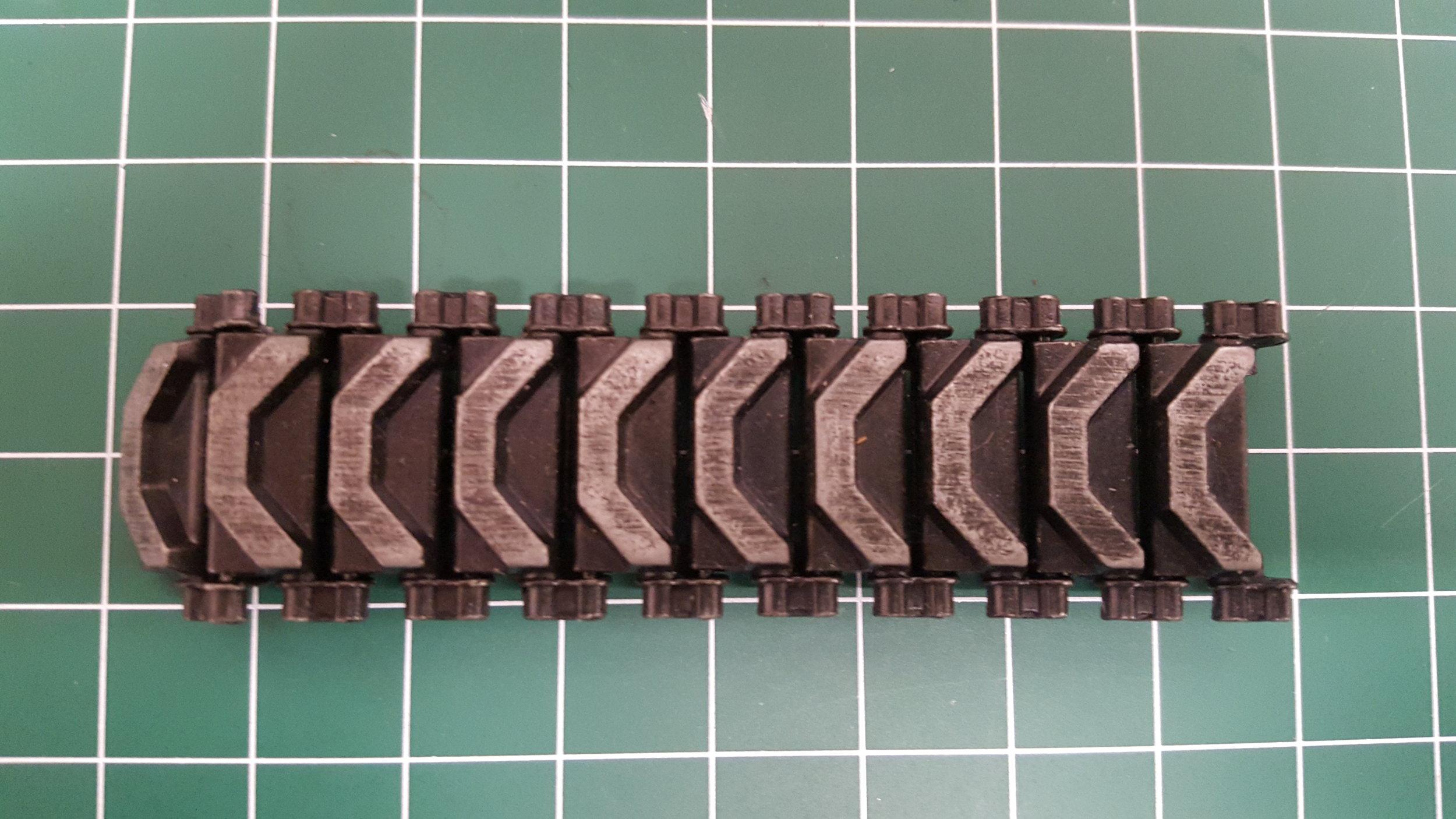 Sherman 75mm Metal Tracks
