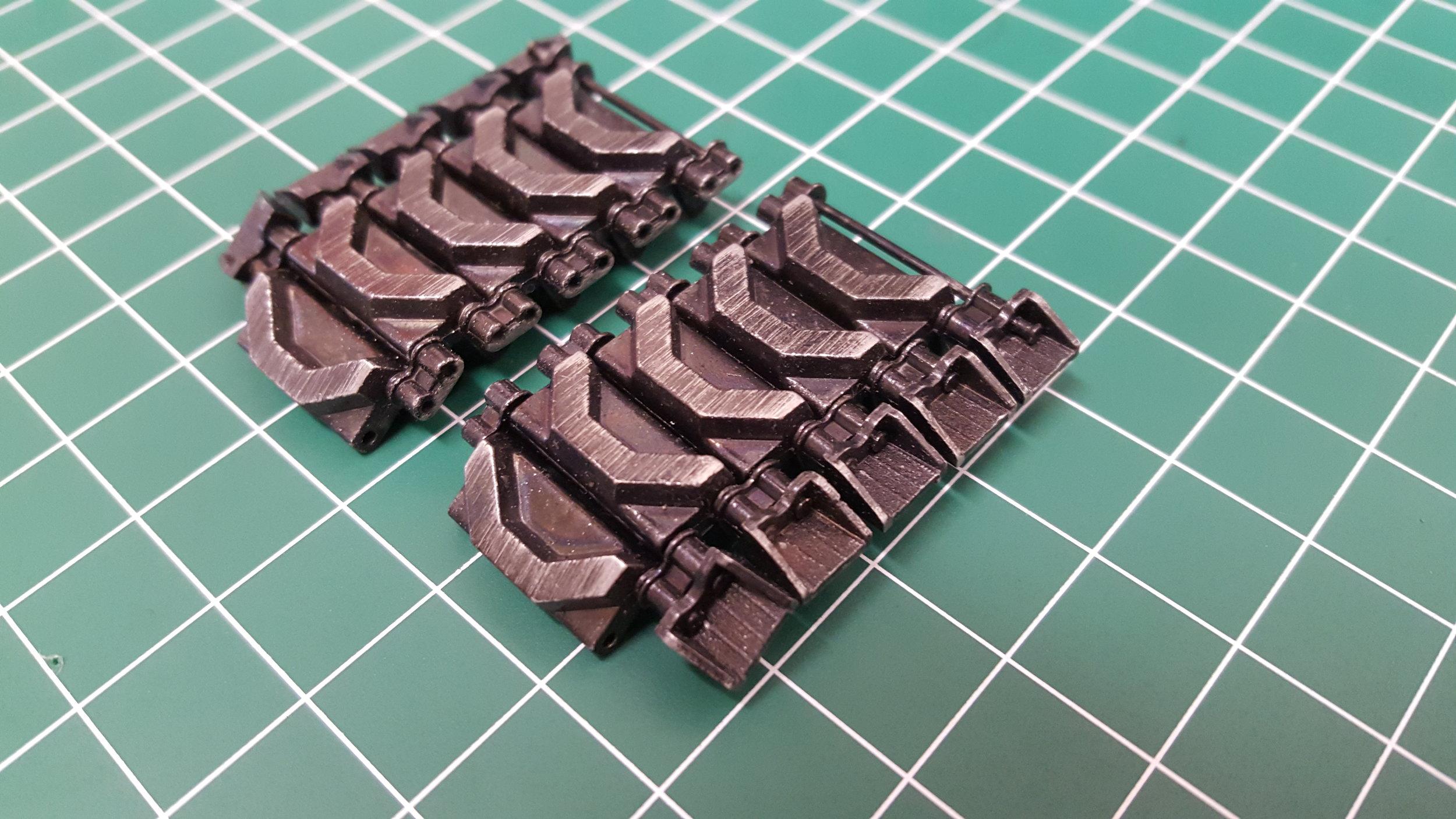 Sherman 76mm Metal Tracks