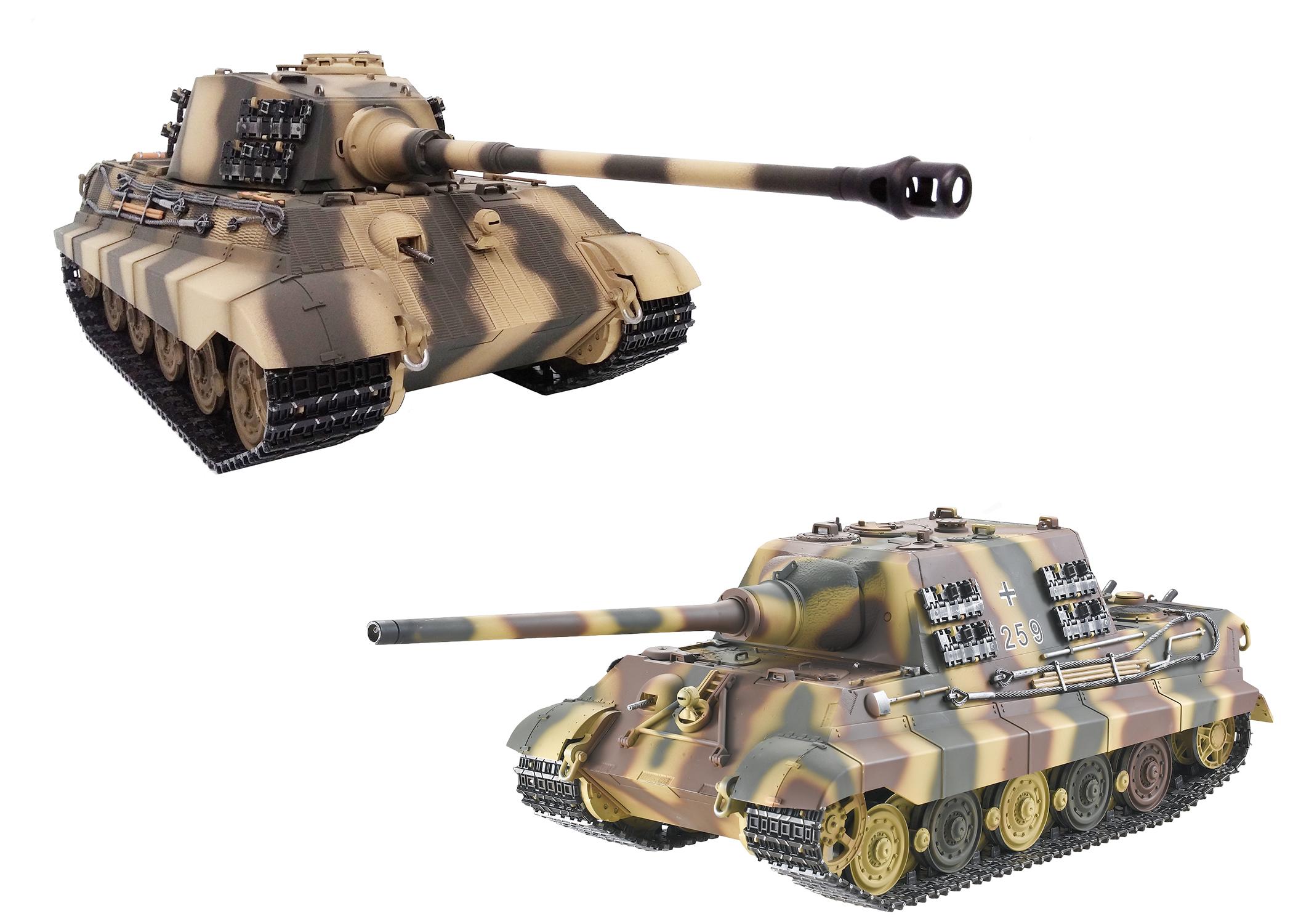 King Tiger & Jagdtiger Tank Parts