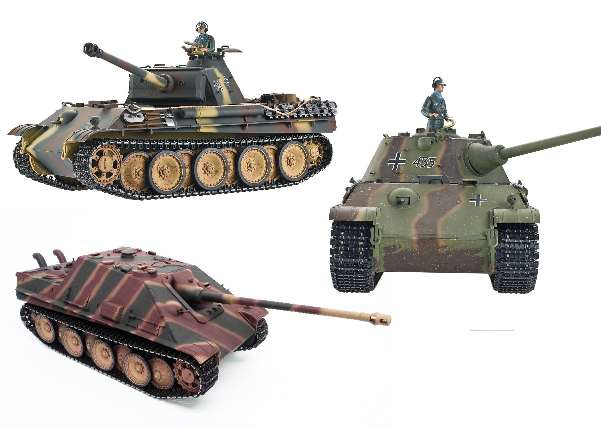 Panther & Jagdpanther Tank Parts