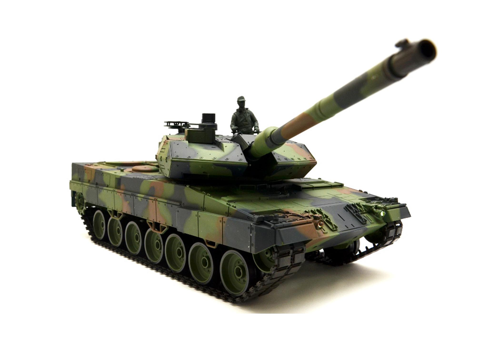Leopard 2A6 Tank Parts