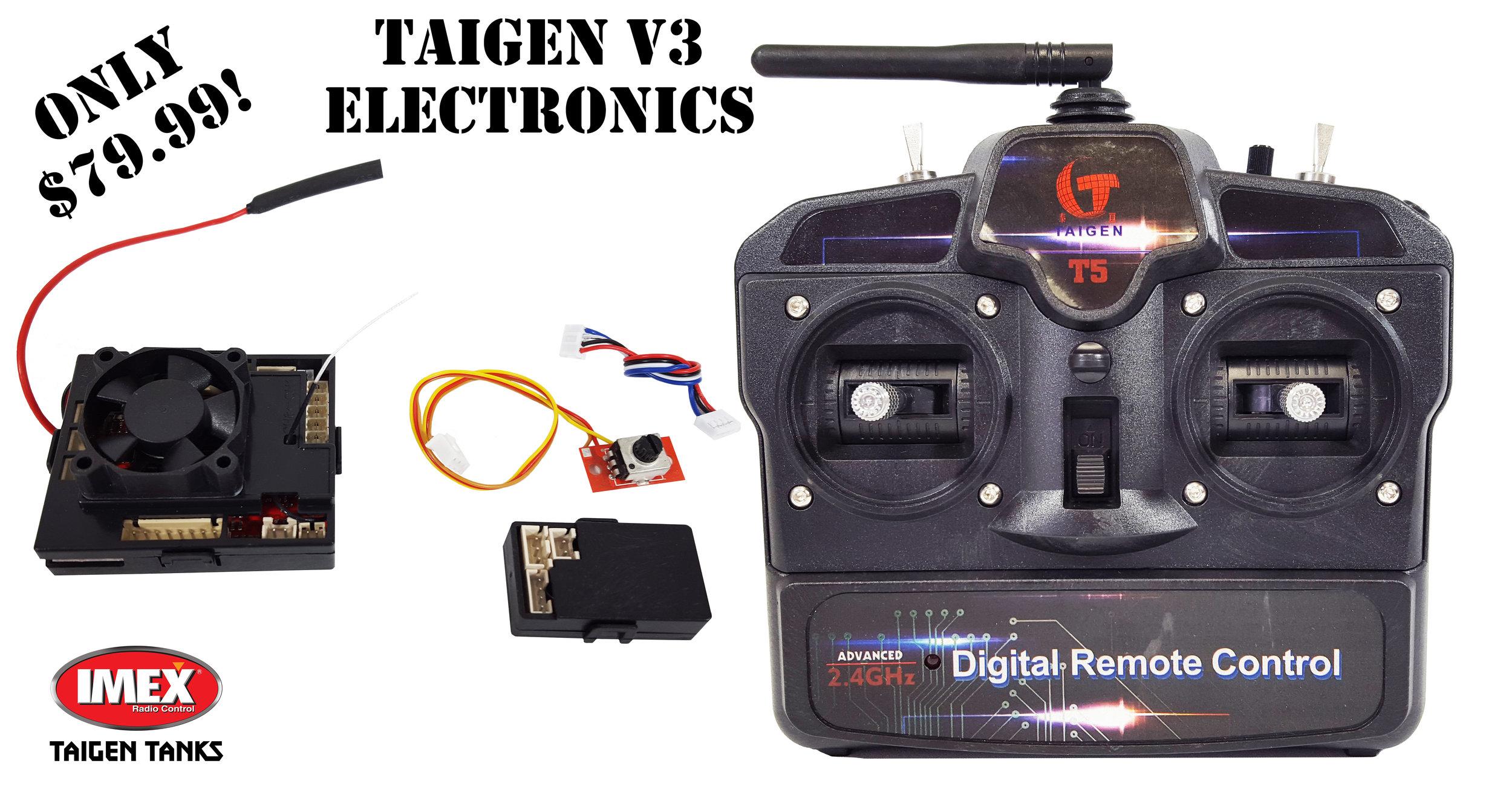 Taigen V3 2.4GHz Motherboard, Transmitter, & Sound Card Combo