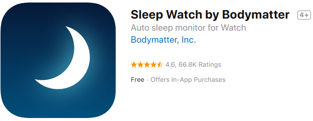 Sleep Watch App — Apple Watch Sleep Tracker App