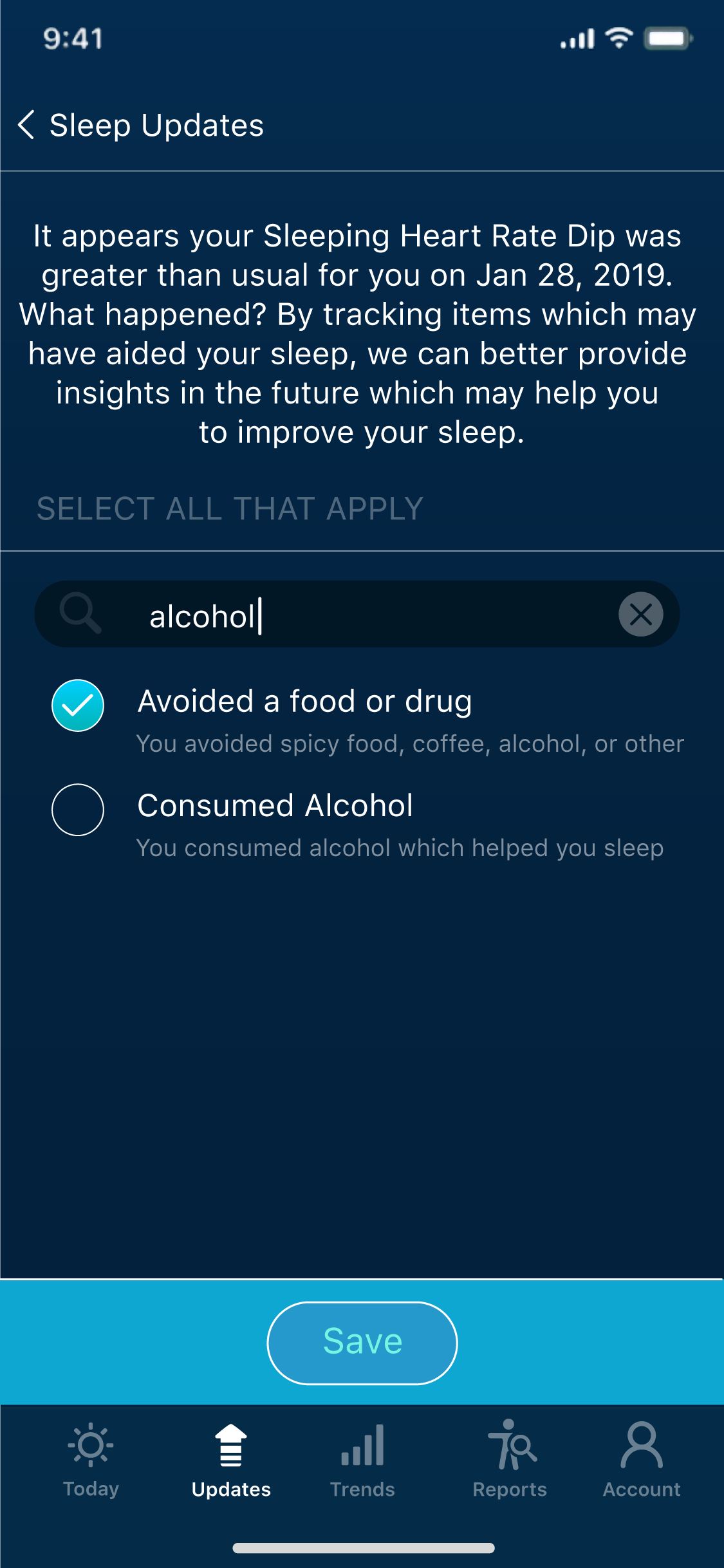 New Upgrades For Sleep Anomaly Detection Sleep Watch App