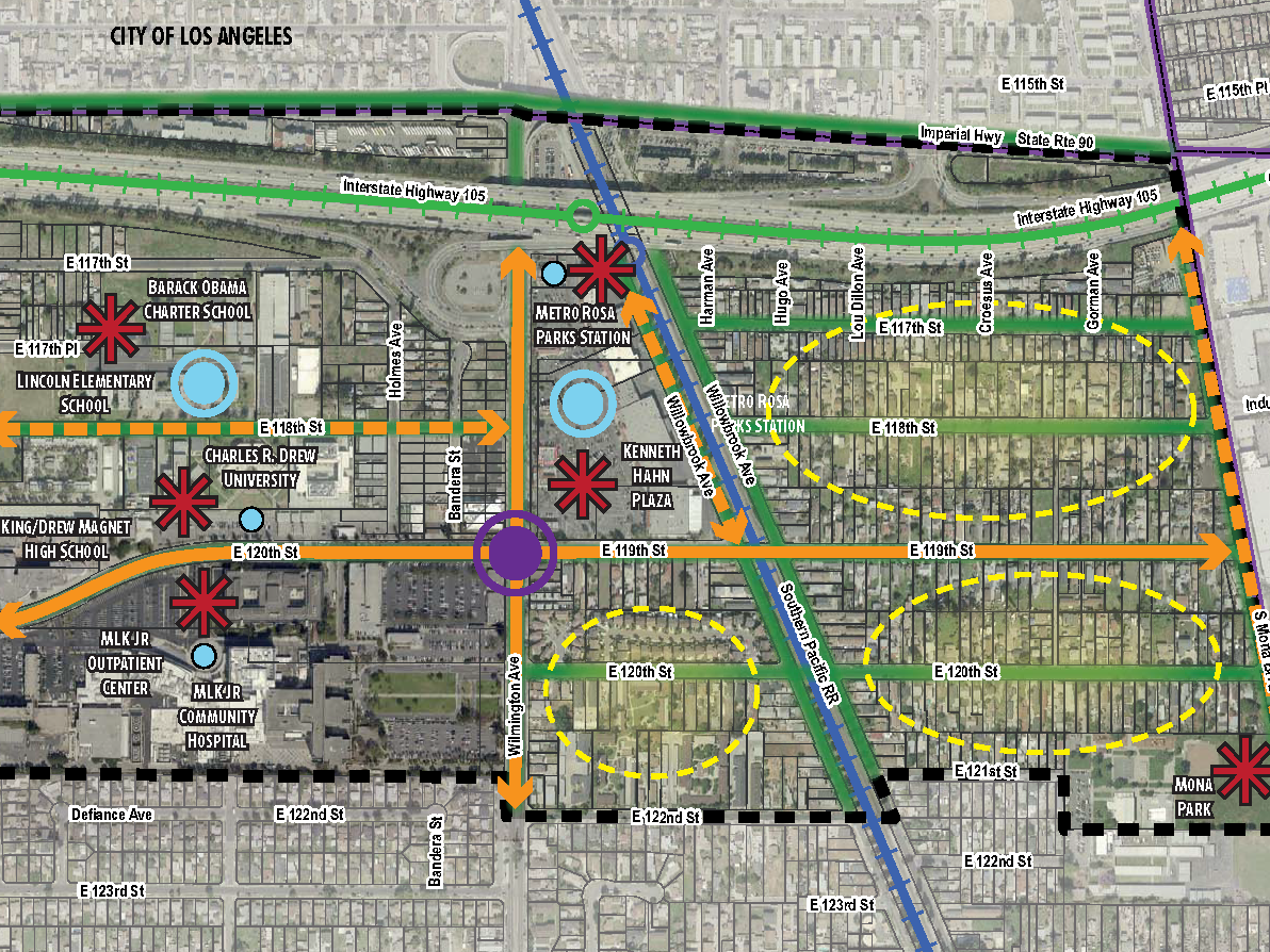 <b>WILLOWBROOK TOD SPECIFIC PLAN</b><br>Los Angeles, California</br>