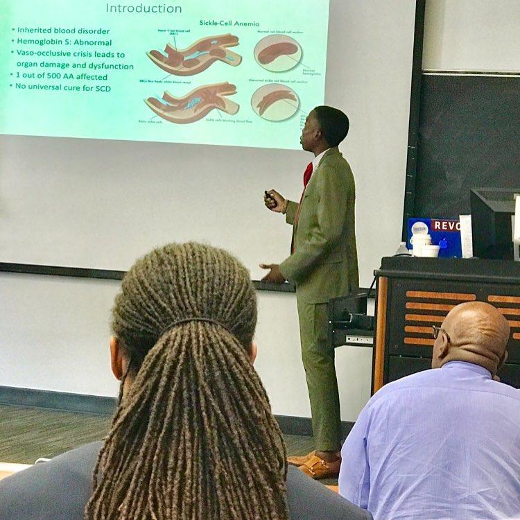 Elijah speaks about sickle cell disease
