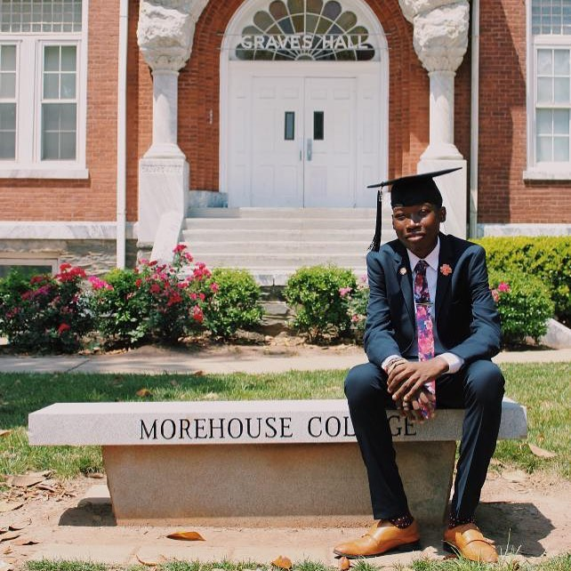 Elijah at Morehouse College Sickle Cell Disease