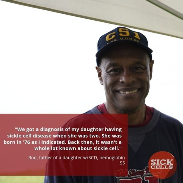 Help us celebrate this #motivationalmonday with a wonderful father of the SCD community, Rod!  Find more stories like his at our website at www.sickcells.org  #FacesofSCD #sickcells #sicklecell #sicklecellawareness #sicklecellwarrior