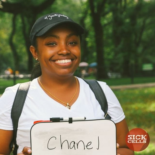 """""""Sickle cell does not define me. It's not who I am. I've never let it hold me back. I was talking to my mom a few weeks ago, and heard she was saying how I persevered through everything. I can do everything. I'm just like everybody else."""" Chanel, an adult w/SCD, hemoglobin SS.  To read more stories like Chanel, visit our website at www.sickcells.org.  #FacesOfSCD #sickcells #sicklecell #sicklecellawareness #NewYork"""
