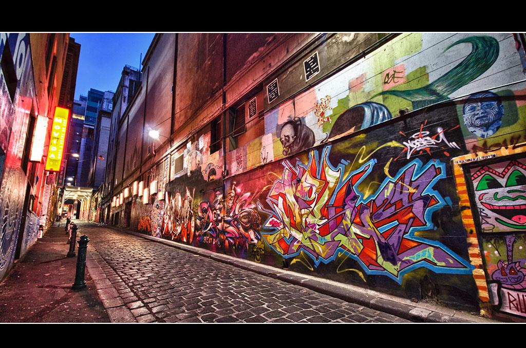 Hosier Lane, Photo courtesy of flickr.com