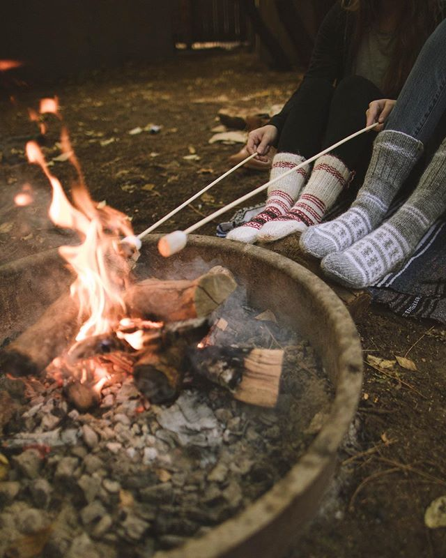 Stoked for more nights around the campfire 🔥