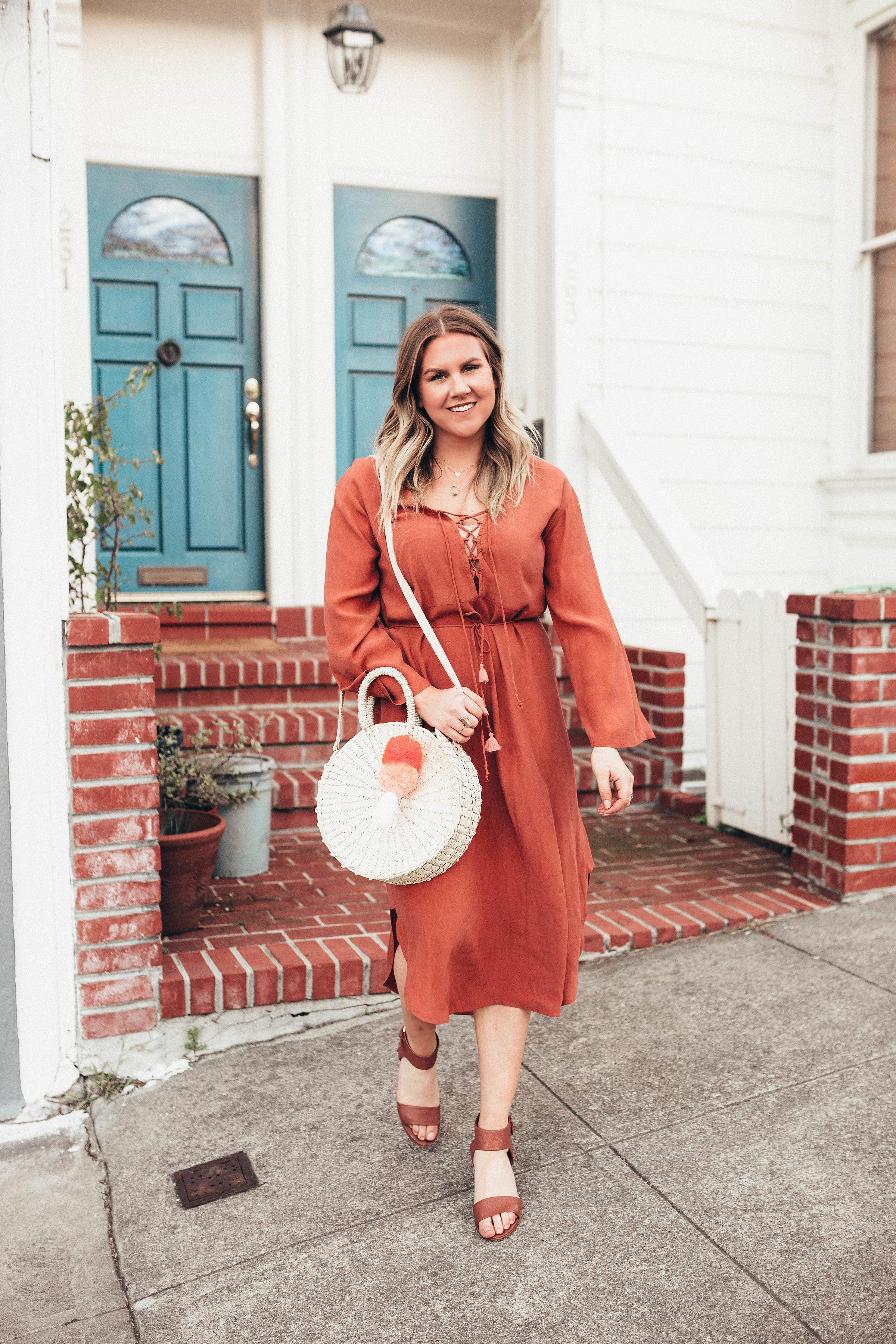 via Thea Spring Dress