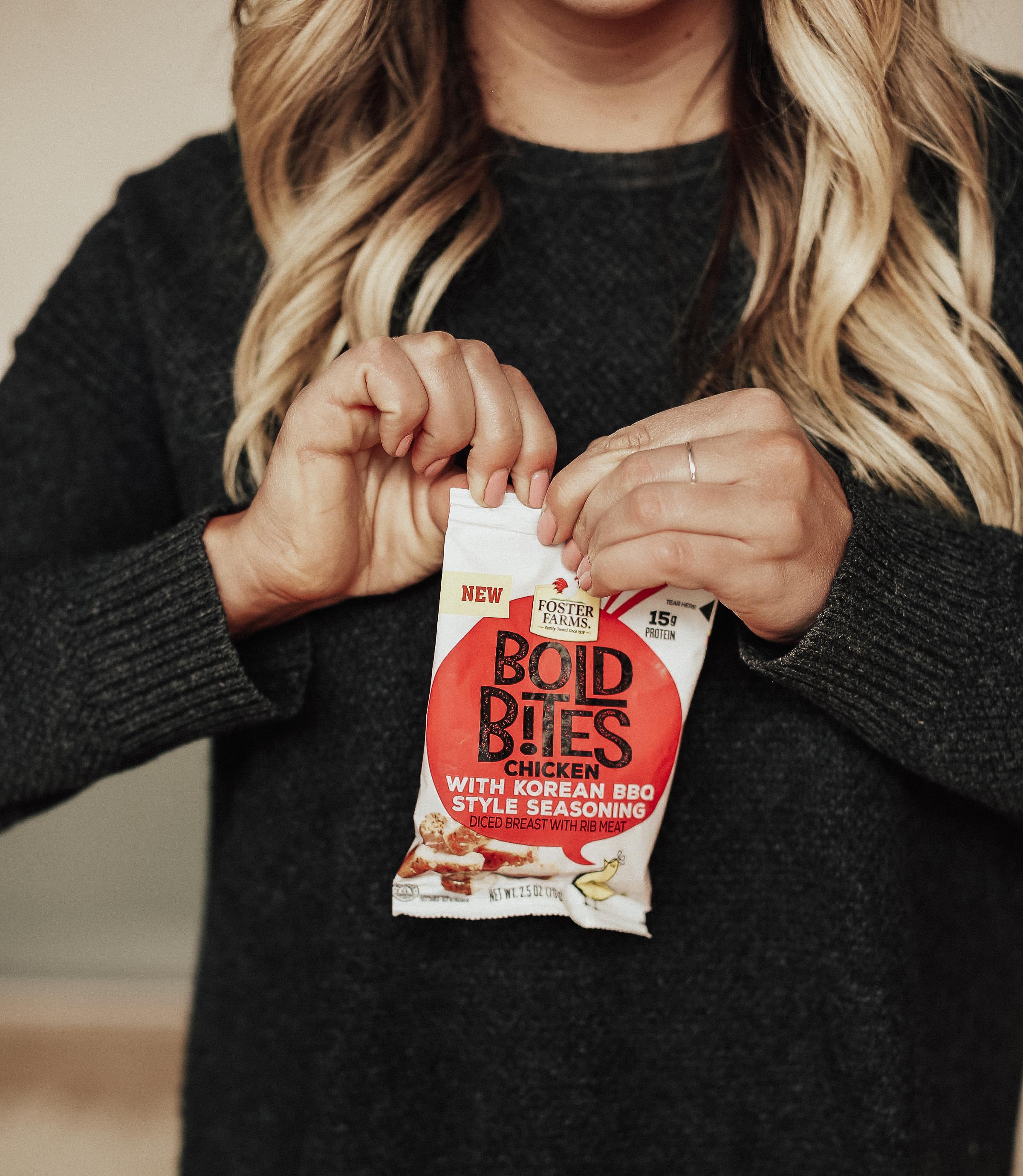 via Thea Foster Farms Bold Bites Snack Boldly