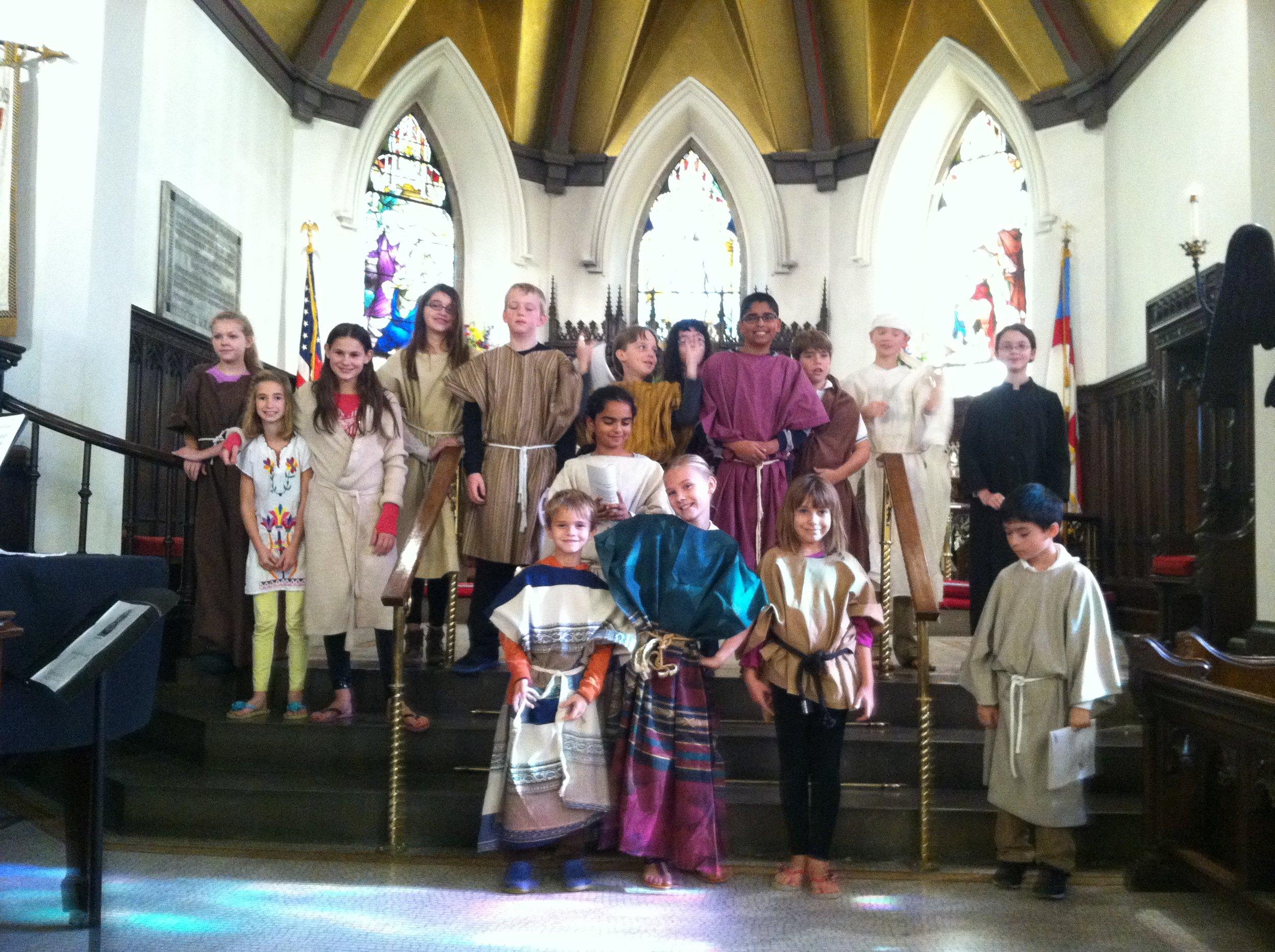 St. Philip's Junior Choir, Annual Musical-Drama Performance