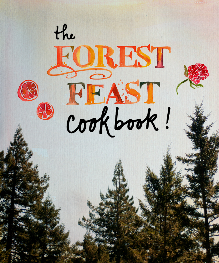 I am thrilled to announce that THE FOREST FEAST COOKBOOK will be out in Spring of 2014!! It will contain 100, mostly new vegetarian recipes, with my hand lettering, watercolors and photography. The book will be published by  Stewart, Tabori & Chang , an imprint of Abrams. I am so excited to be working with Dervla Kelly from Abrams and am immensely grateful to my agent  Alison Fargis . Many thanks to everyone who has been following The Forest Feast, I could not have done it without your support! More recipes to come this week….Happy feasting!
