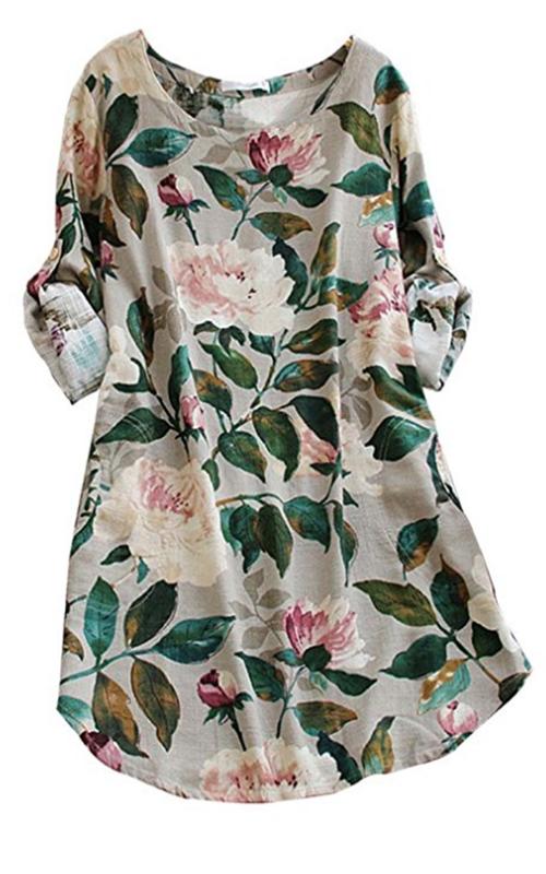Ashir Aley Floral Dress