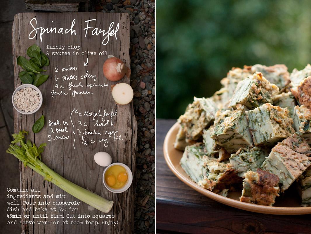Spinach Farfel