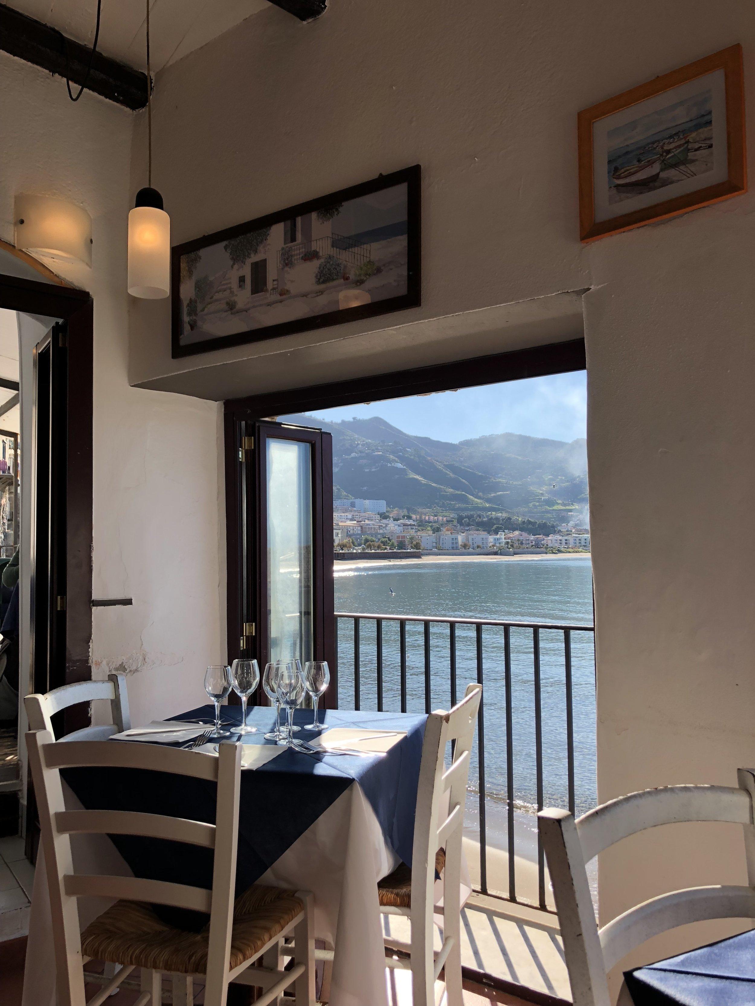 Il Covo Pirata Restaurant in Cefalu.