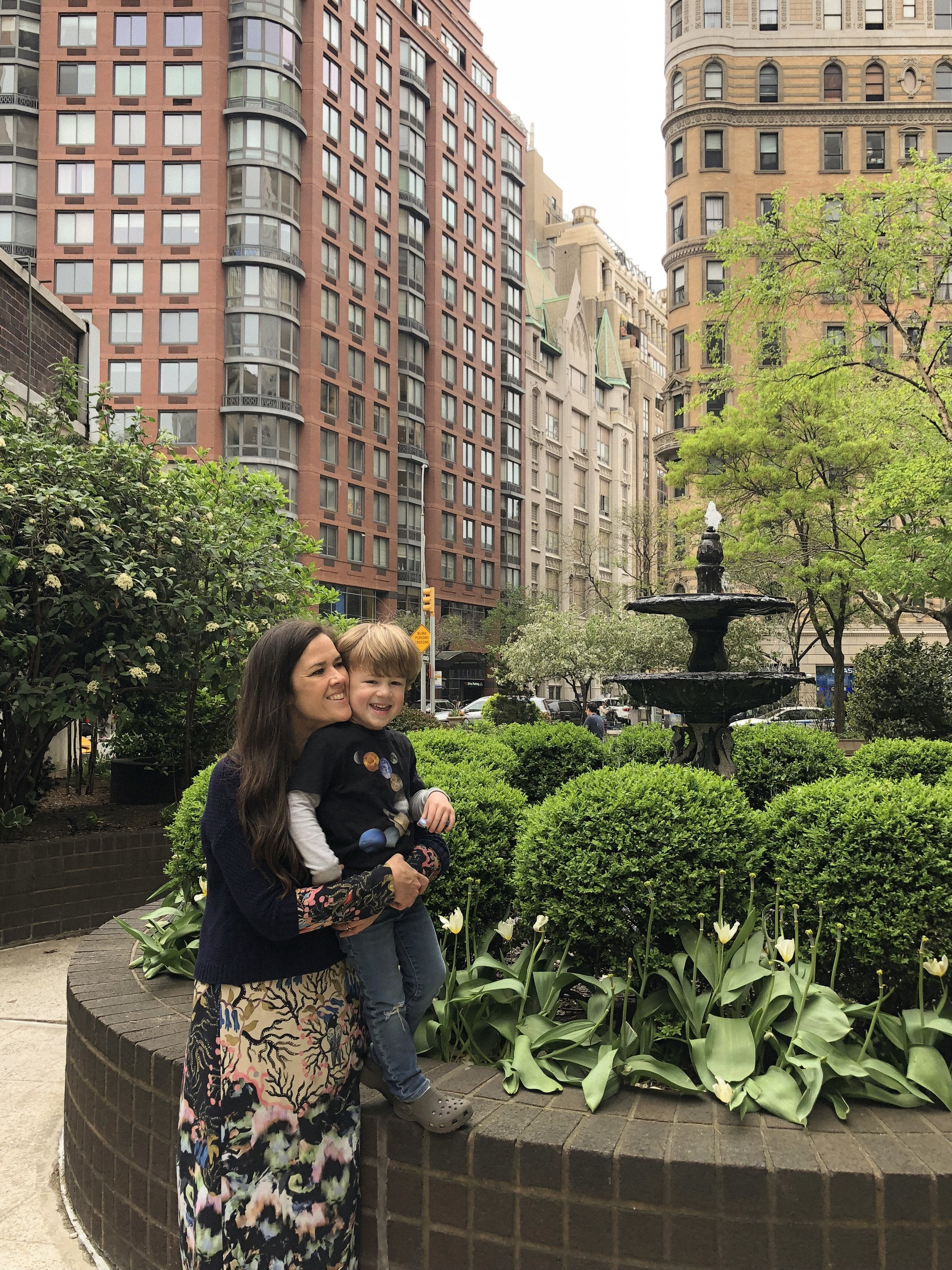 With Ezra on the Upper West Side