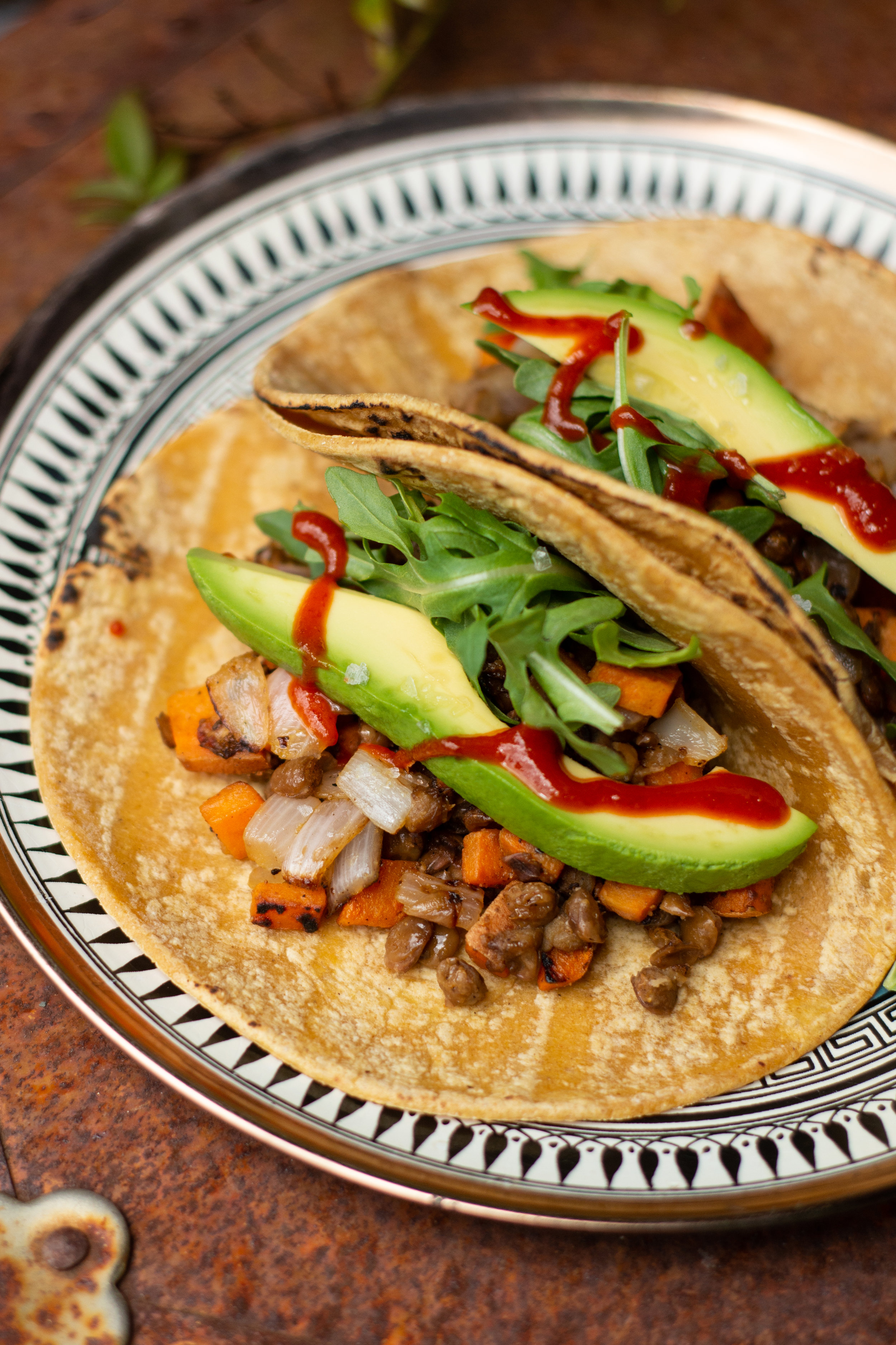 Sweet Potato & Lentil Tacos