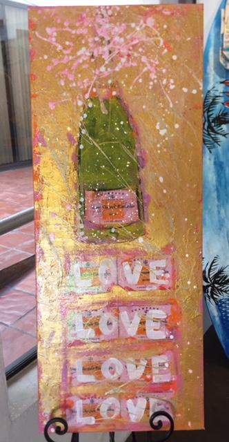LOVE LOVE LOVE (Sold)