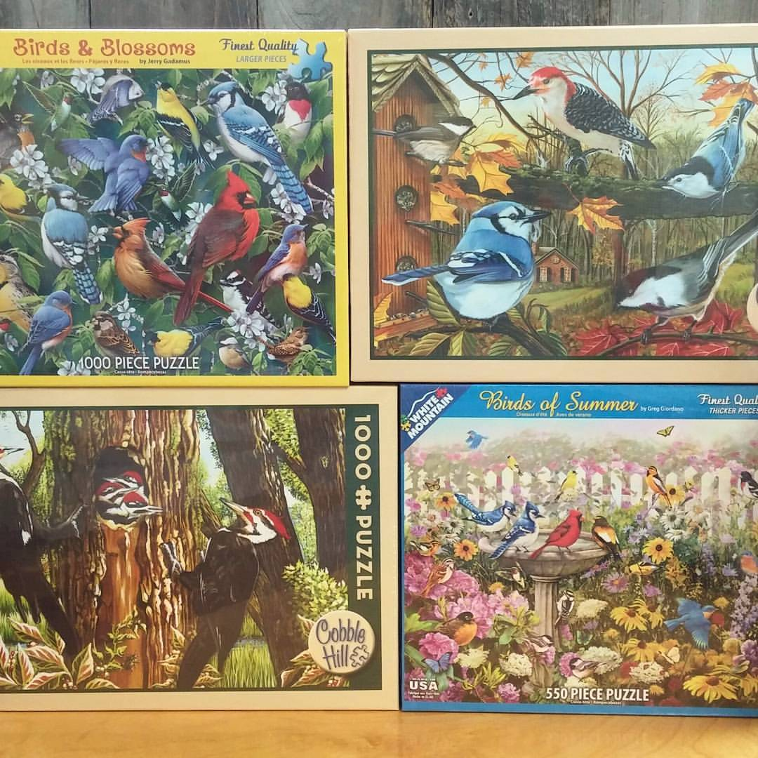 Puzzles for the birder in your family.