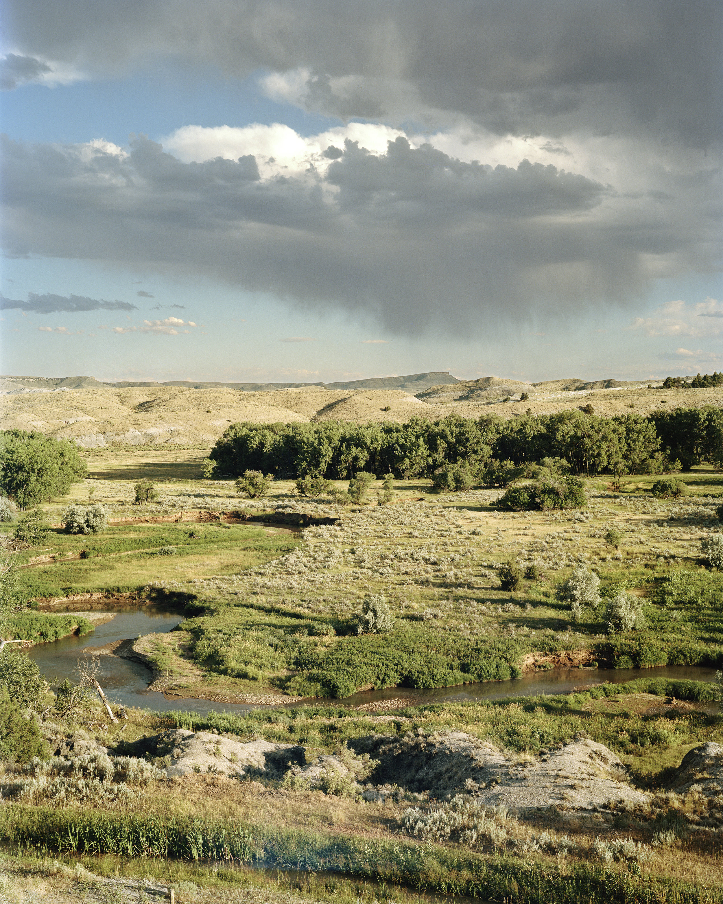 Powder River , 2012 30 x 40 inches, unframed 37 x 45 1⁄2 inches, framed Archival Inkjet Print Edition 3 of 5