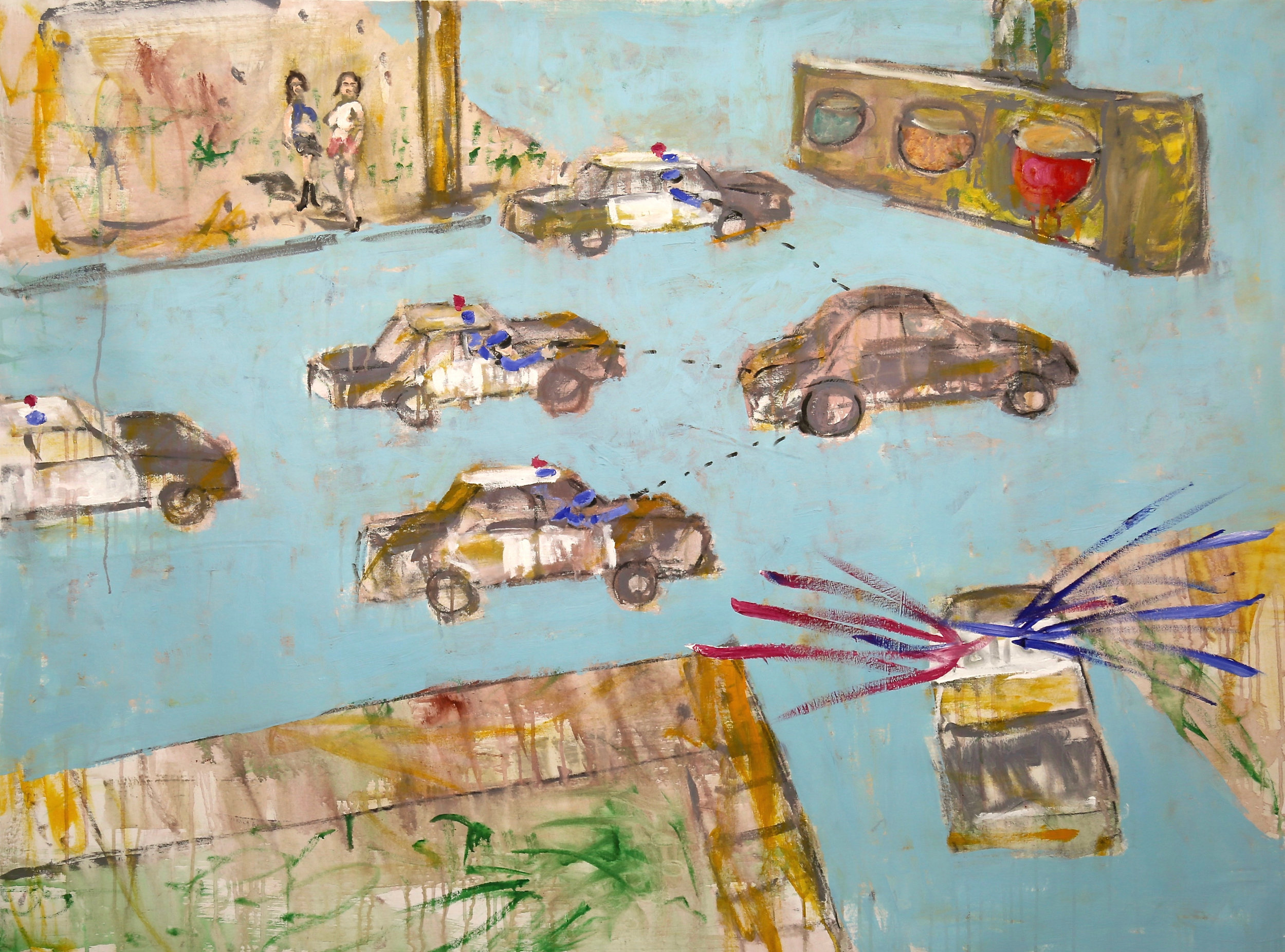 Bp Laval_Car Chase_oil, acrylic on canvas_56_X42_.jpg