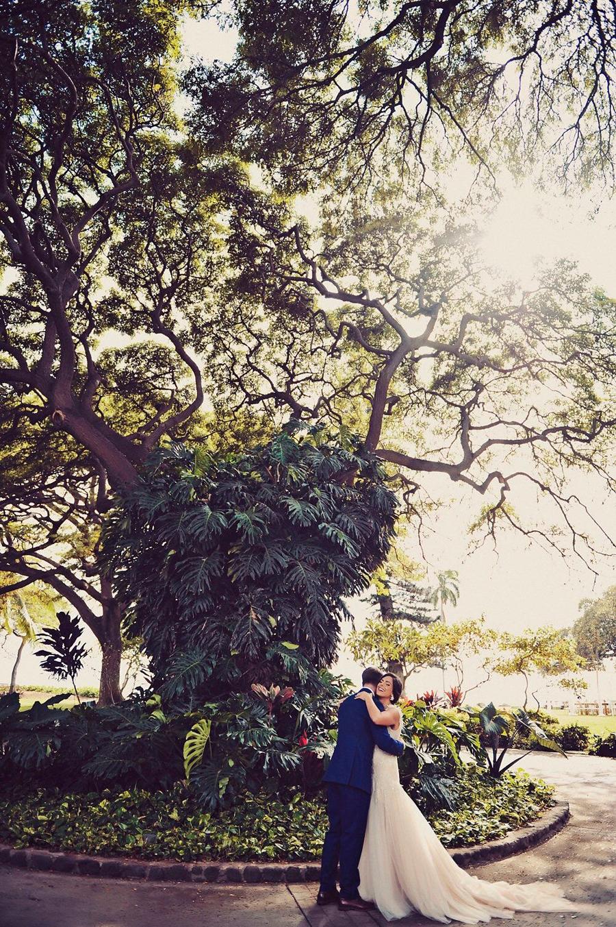 Bride and Groom, Bride, Groom, First Look, Hawaii, Maui