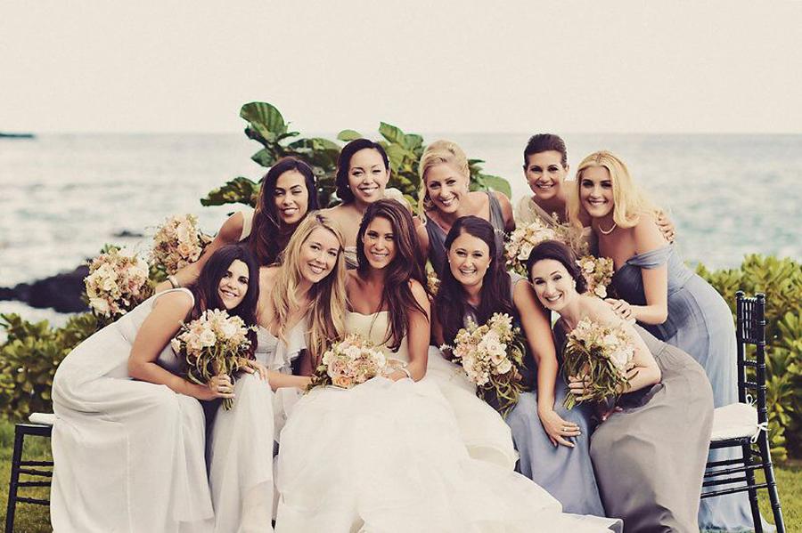 Bride, Bridesmaids, Bridal Party, Wedding Day