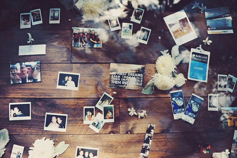 Wedding, Wedding Day, Polaroids