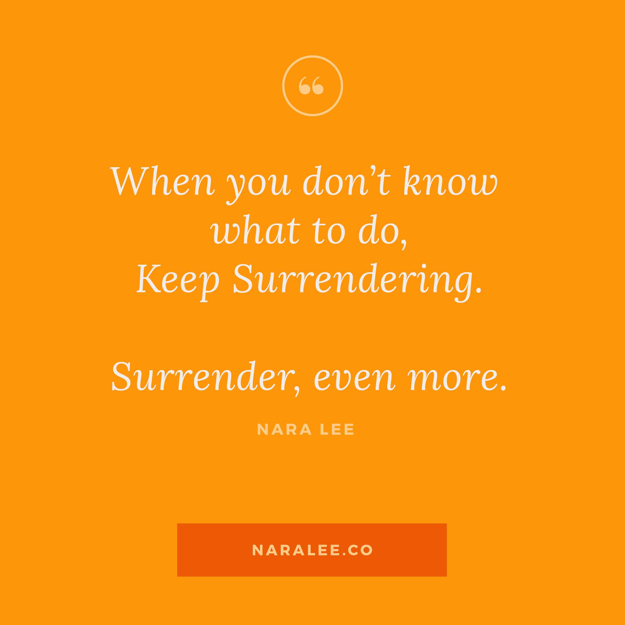 [Rising-Strong-Quotes] Nara Lee Quotes - Surrender.jpg