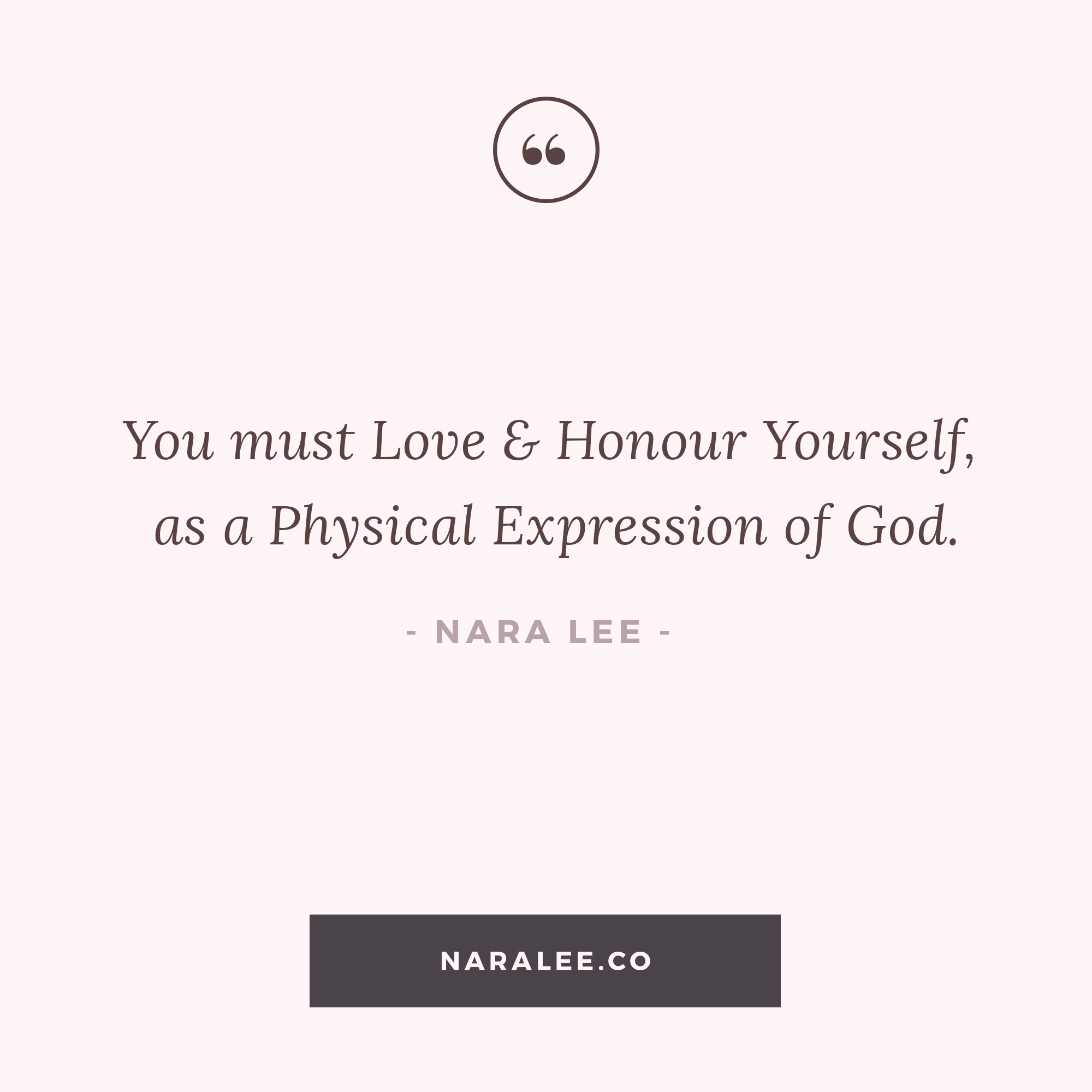 [Self-Love-Quotes] Love yourself as God - Nara Lee Self Love Quotes.jpg