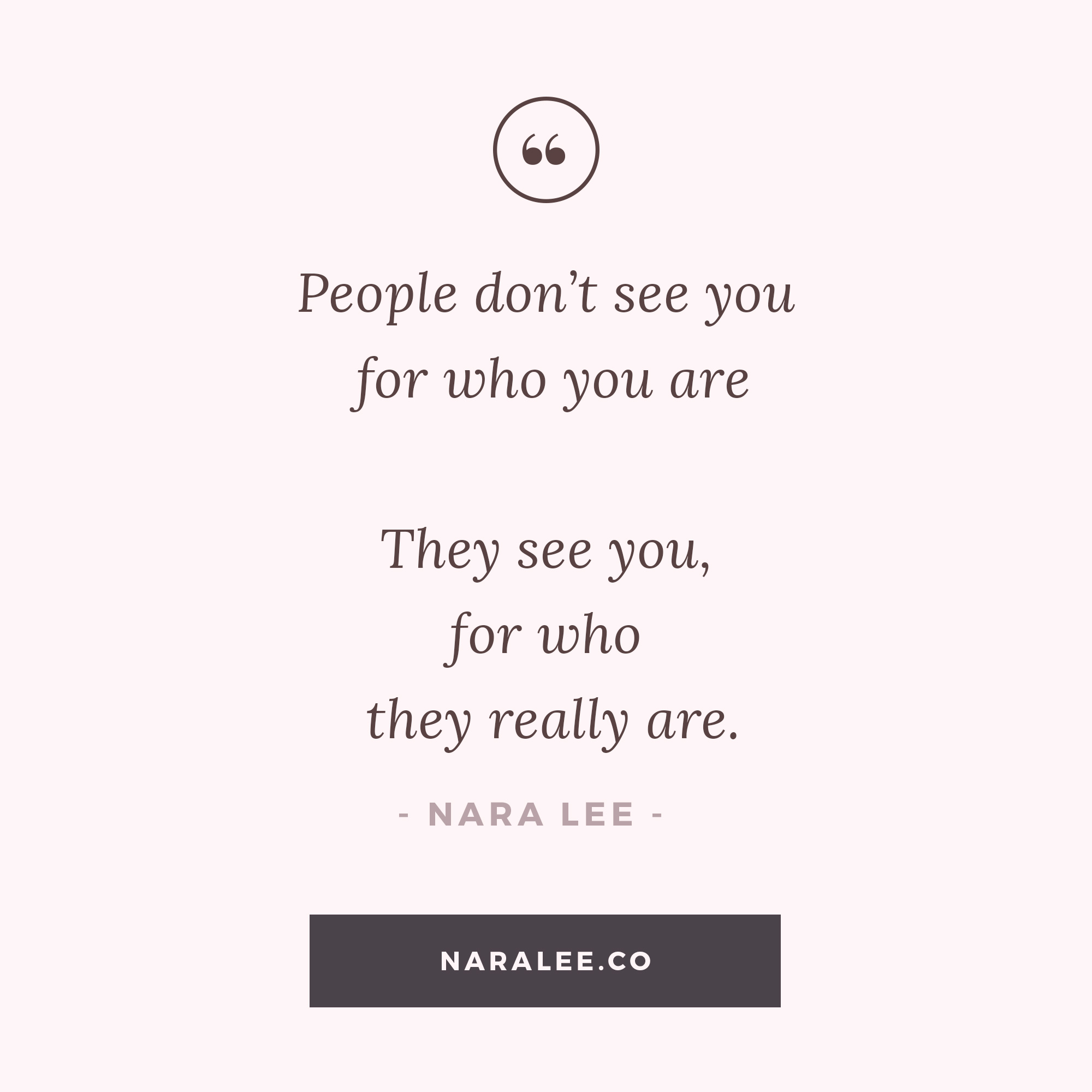 Nara Lee| Projections — Inspirational Quotes