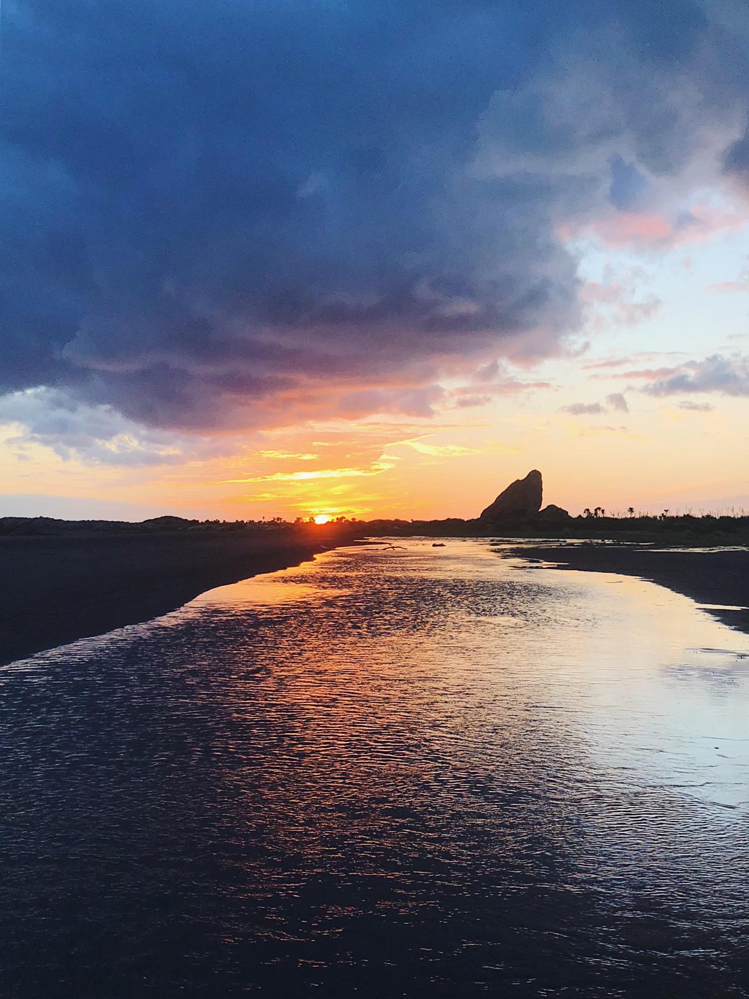 Sunset at Whatipu
