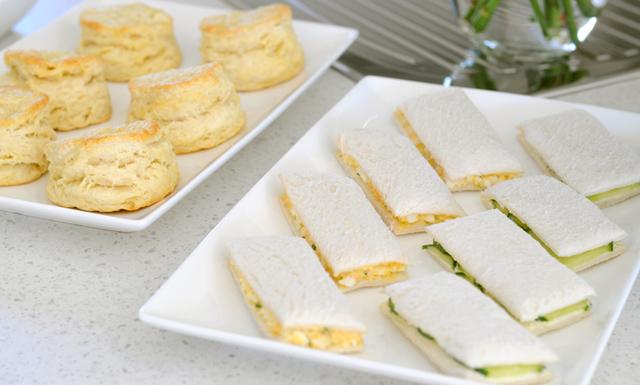 Egg & Cucumber Tea Sandwiches