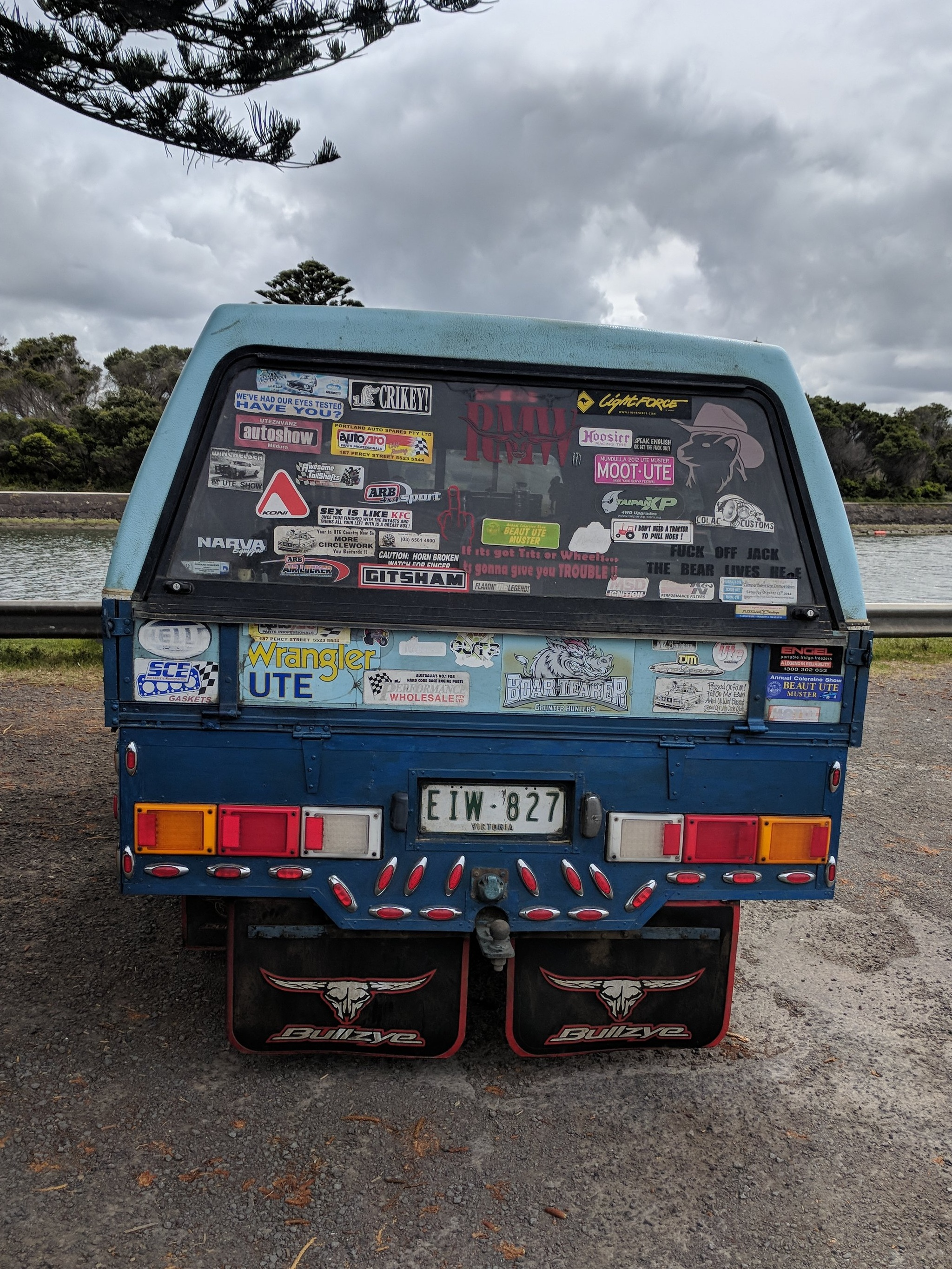 IN AUSTRALIA 51% OF CARS HAVE STICKERS ON THEM. YES THAT'S RIGHT - YOU'RE EITHER A STICKER LOVER OR A STICKER HATER! -